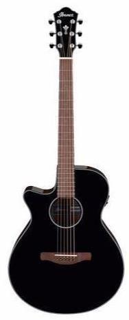 Ibanez AEG50L BKH Left Ac/El Guitar