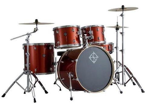 Dixon 522 5pce Champagne Spkle Drum Kit