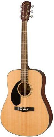 Fender CD60s LH NAT WN Acoustic Guitar
