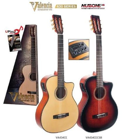 Valencia 434CE Ac/El Guitar