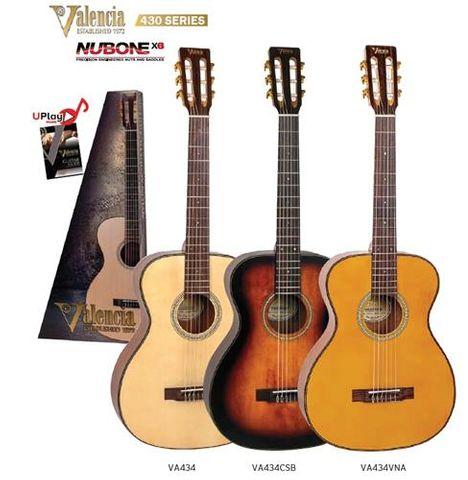 Valencia 434 Acoustic Guitar