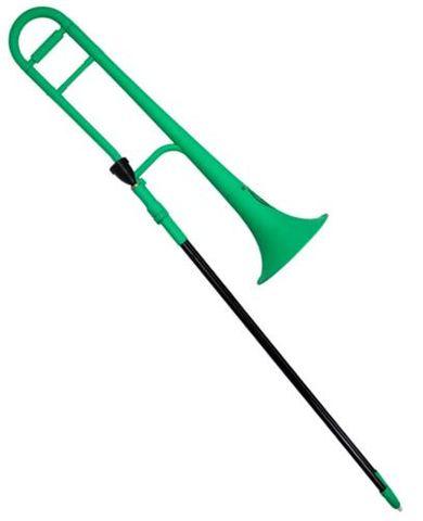 ZO Plastic SCREAMIN GREEN Trombone