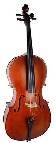 E Keller 1/4 Solid Top Cello Outfit