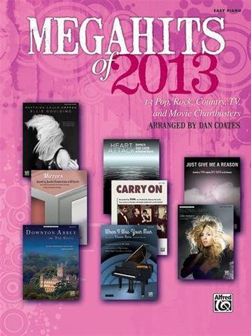 Megahits of 2013 Easy Piano
