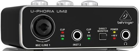 Behringer Uphoria 2x2 Audio Interface