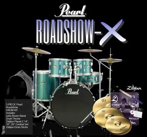 Pearl Roadshow X 22in AB 5pc Fusion Plus