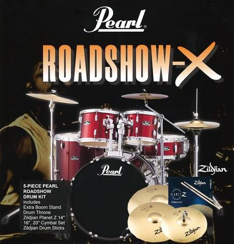 Pearl Roadshow X 22in RW 5pc Fusion Plus