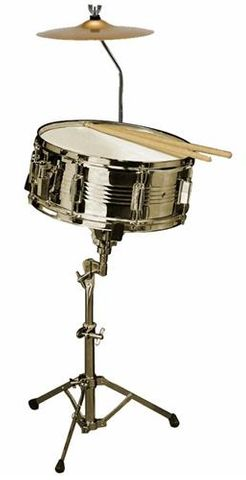 Opus Perc Snare Drum Outfit w Cymbal