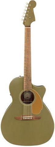 Fender Newporter Player Olive Satin WN