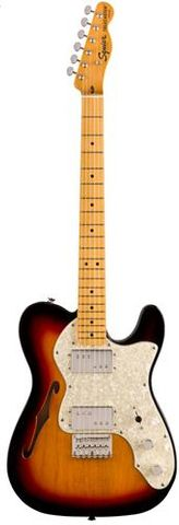 Fender Squier CV 70s Tele Thinline MN3TS