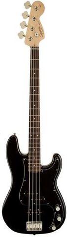 Fender Sq AFF P PJ LRL BLK Bass Guitar