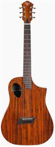 Michael Kelly Koa Junior Ac/El Guitar