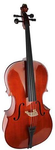 E Keller 1/2 Gloss Cello Outfit w Bag