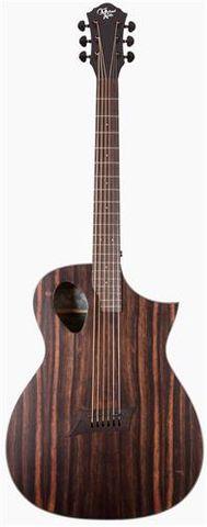 Michael Kelly Forte Ebony Ac/El Guitar