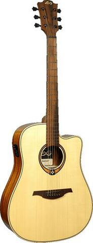 Lag T88DCE Dreadnought Ac/El Guitar
