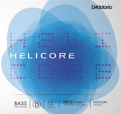 Helicore 3/4 MED D Double Bass String