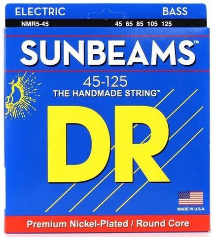 DR NMR5-45 Sunbeam 5 String Bass 45-125