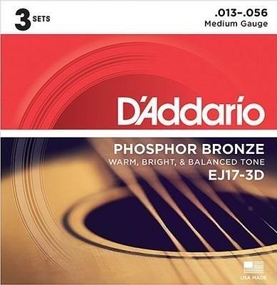 D'Addario 3D EJ17 Acoustic Guitar String