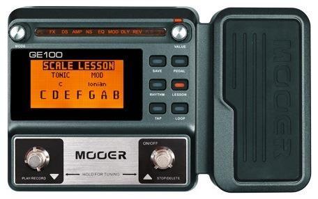 Mooer GE100 Guitar Multi FX Processor