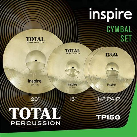 Total Percussion 50 Inspire Cymbal Set