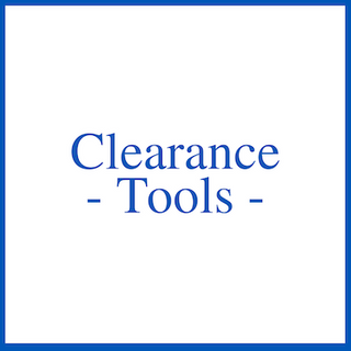 Clearance - Tools