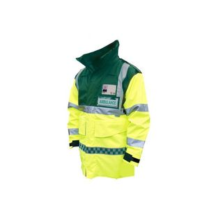 HI-VIS AMBULANCE JACKET SIZE XL