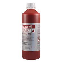 Betadine Antiseptic Skin Prep Liquid 500mL - Each