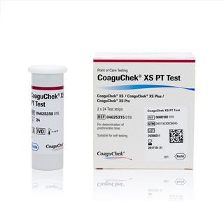 CoaguChek® XS PT Test Strips 2 Bottles - Box (48)