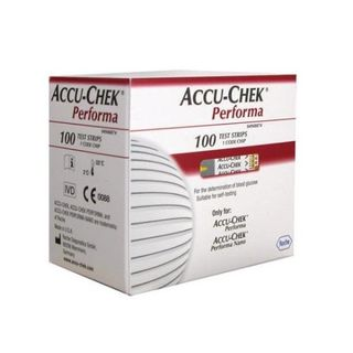 Accu-Chek® Glucose Monitoring Performa Strips - Box (100)
