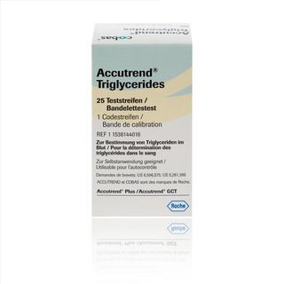 Accutrend Test Strips Triglycerides - Box (25)