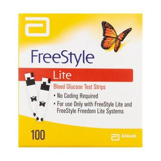 Freestyle Glucose Strips Lite - Box (100)