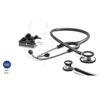 ABN Classic Adult Dual Head Stethoscope Navy Blue (417)