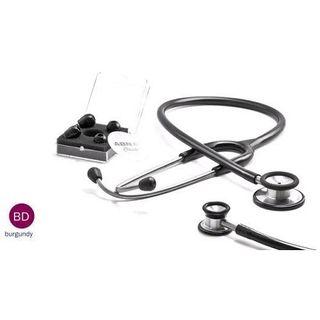 ABN Classic Adult Dual Head Stethoscope Burgundy (417)