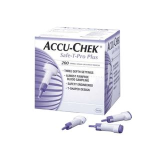 Accu-Chek Safe T Pro Plus Lancet - Box (200)