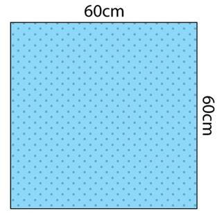 Fluid Impervious Utility Drape 60cm x 60cm Sterile - Each