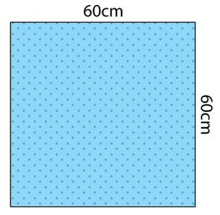 Fluid Impervious Utility Drape 60cm x 60cm Sterile - Carton (100)