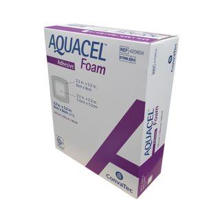 Aquacel Foam Dressing Adhesive 8cm x 8cm - Box (10)