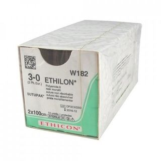 Ethilon 5/0 PS-3 45cm - Box (12)