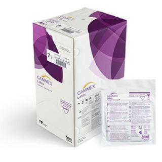 GAMMEX Latex Powder Free Sugical Gloves # 9 - Box (50 Pairs)
