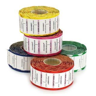 Suretrax Process Indicator Labels Blue - Roll (700)