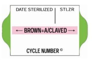 Suretrax Process Indicator Labels Green - Roll (700)