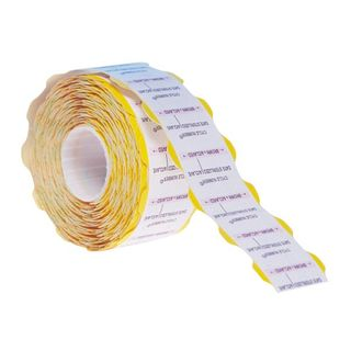 Suretrax Process Indicator Labels Yellow - Roll (700)