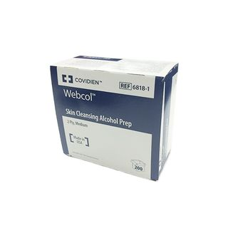 Kendall Webcol Alcohol Wipes - Box (200)