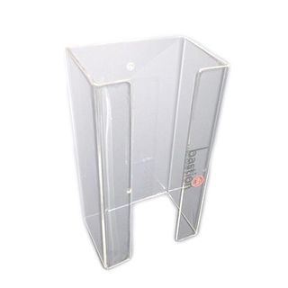 Single Tier Glove Dispenser-Acrylic Dispenser bracket