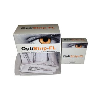Fluorets Sterile Optistrips - Box (100)
