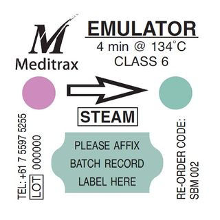 Meditrax Integrator Labels Class 6 - Pack (400)