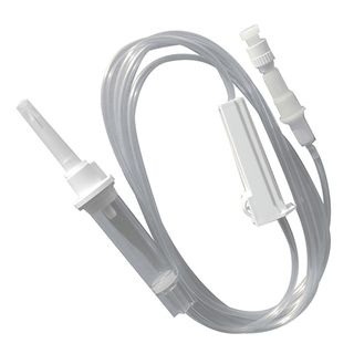 Solution Giving Set / Infusion Set 220cm