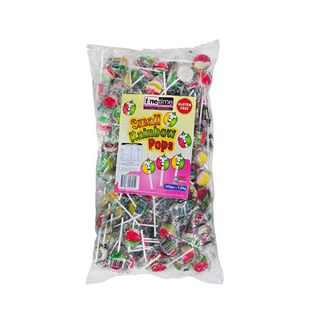 Small Rainbow Lollipops - Bag (200)