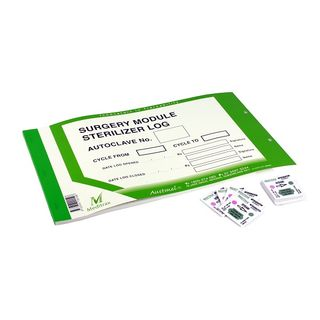 Meditrax Surgery Module Steriliser Log Book - (50 sheets)