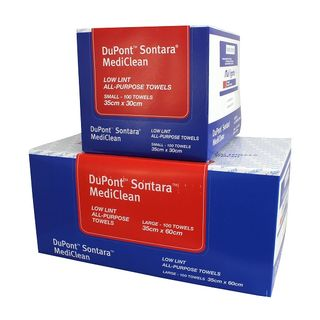 Mediclean Towels Dupont 30cm x 35cm Small - Box (100)